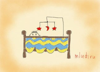 Бортики в кроватку своими руками