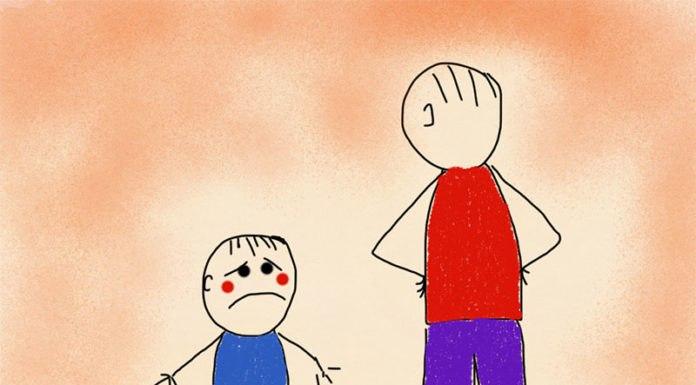 Нельзя бить детей!
