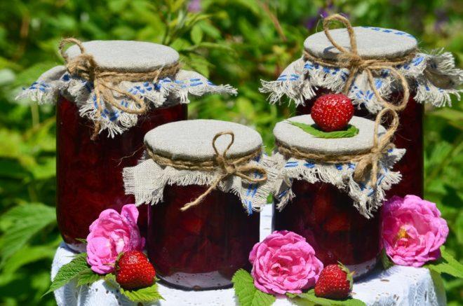Рецепт вкусного варенья из роз