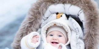Как одевать новорождённого зимой