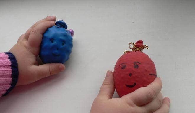 Как сделать с ребенком сенсорные мячики