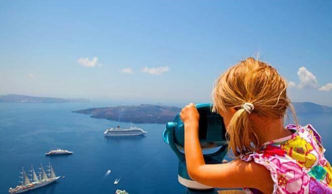 Греция -лучшие места для отдыха с детьми