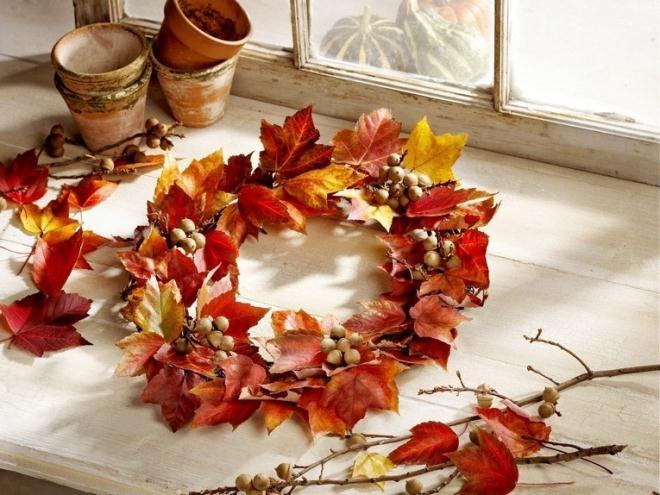 Осенний веночек