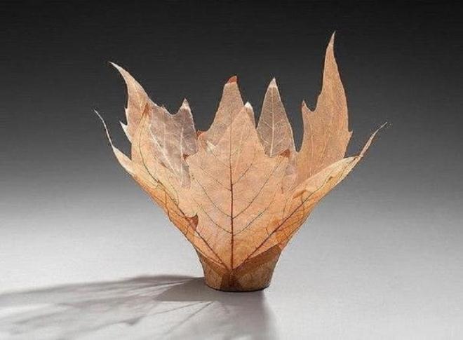 Скелетированные листочки