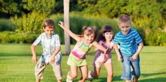 Во что играть с детьми на природе