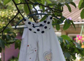 Удлиняем короткое платьице