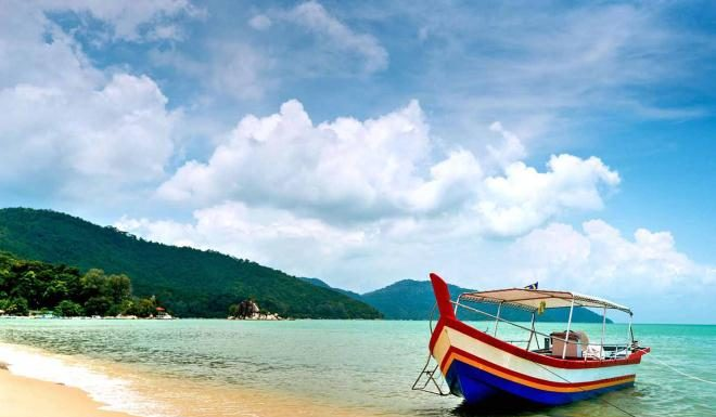 Семейный отпуск на острове Пинанг
