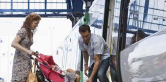 Как организовать путешествие с младенцем в междугороднем поезде