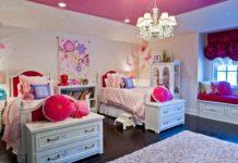 Оформление комнаты сестричек